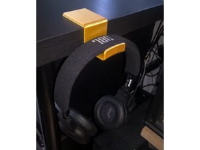 Headphone Rest for IKEA LINNMON Tabletop