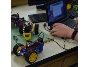 """Izzy"" ISSE Bot -Share Our Open Source Arduino Robot Worldwide! - Learn Coding the Fun Way!"
