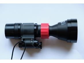 3x afocal lens adapter for PVS-14 / Envis lens