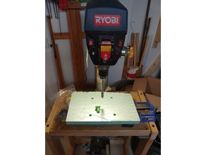 My Customized NUT JOB - For Drill press sacrificial plate