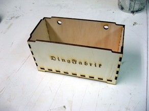 small stackable and hanging box