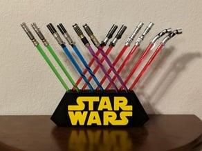 Lightsaber Chopstick Stand