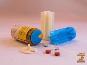 Prescription Vial Divider
