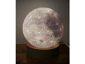 Moon Lamp Base