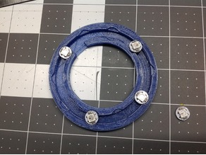 Mounting Ring for 10 Neopixels