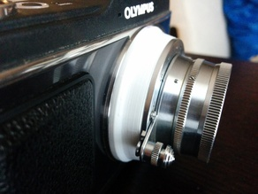 M39 Leica Thread Mount to Micro Four Thirds lens adapter