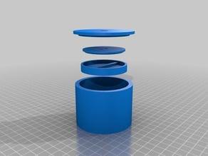 3D Model - Black Sand Magnet Recycle Old Hard Drive Magnets