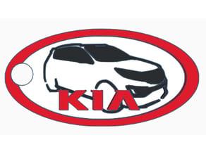 KIA Sportage Keychain 3 colors