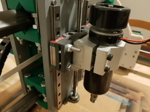 Easy exchange tool holder plates for Root CNC 3