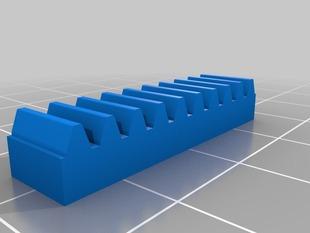 My Customized Lego Rack Gear