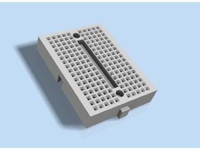 Model - Solderless Breadboard 2 x (5 x 17) contacts