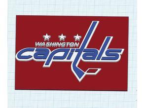 Washington Capitals Logo Multi Color MMU