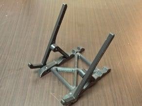 Adjustable Tablet Holder / Stand - 5 positions & M3 hardware