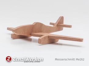 Messerschmitt Me 262 simplified cnc/laser