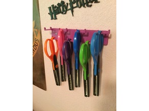 Craft Scissor Wall Holder