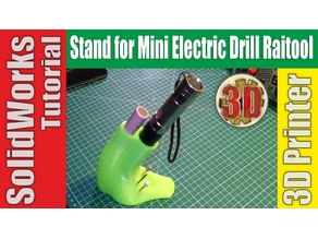 Stand for Mini Electric Drill Raitool