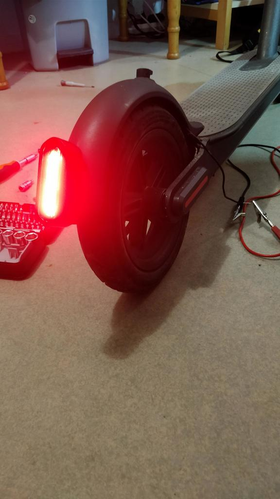 Xiaomi Mijia M365 Powerful and bright Rear light by