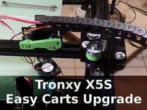 Tronxy X5S Easy Carts Upgrade