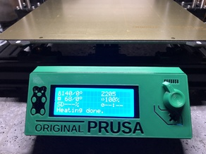 Prusa Bear LCD cover