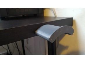 Desk Mounted Headphone Holder