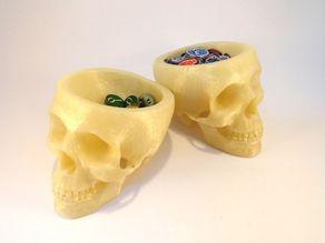 Skull token tray