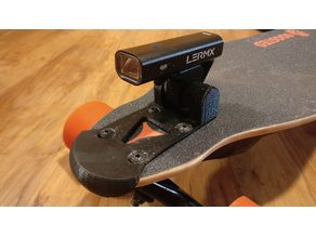 Boosted Board Bashguard + Bicycle Light Attachment