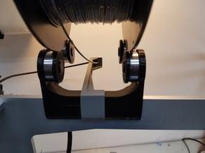 Bowden filamentguide Geeetech i3 aluminium