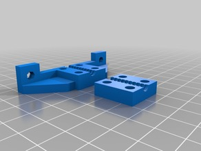 Bowden adapter mount for Greg's Wade's Extruder