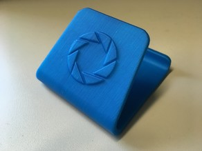 Aperture Science Logo - Phone Stand
