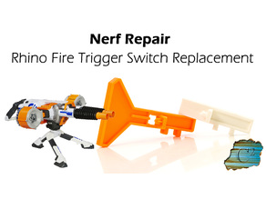 Nerf Rhino Fire - Trigger Switch Replacement