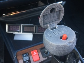 James Bond Shift Knob Secret Button Ejection Seat mercedes 190