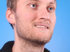My MakerBot 3D Portrait from Dec 19, 2012