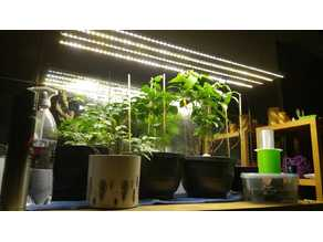 Plant or Working lights DIY, simple & powerful