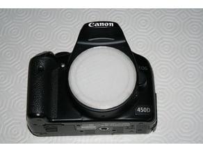 Canon EF Body Cap (Openscad)