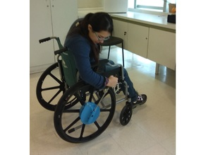 levered-power wheelchair (inspired on Hand Drive)
