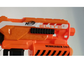 Demolisher Nerf Picatinny Side Rail