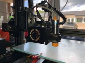 CR-10S laser and bed leveling sensor mount