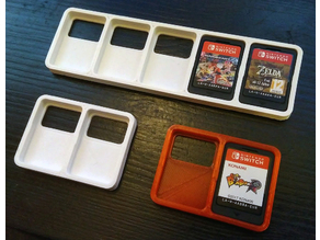 Simple Nintendo Switch cartridge holder