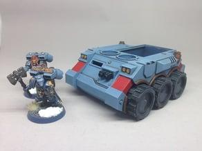 Wheeled APC Mk2 for Sci-fi Wargaming