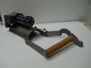 mini gun gauntlet