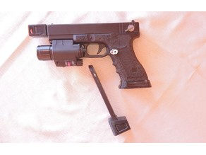 Airsoft - Cyma Glock AEP - Magazine Base