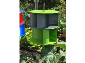 Stackable Ugrinsky Vertical Wind Turbine VAWT