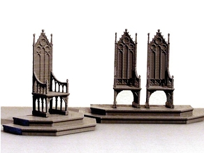 A Medieval Throne