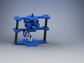 Vertical Desktop Pulse Motor Generator