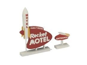 Rocket Motel Sign