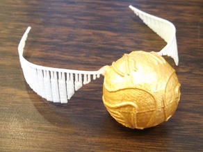 Golden Snitch with Screw Lid