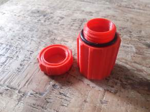 Waterproof canister/container/matchbox v2