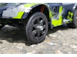 Micro T/LT832 Front Drag Wheels