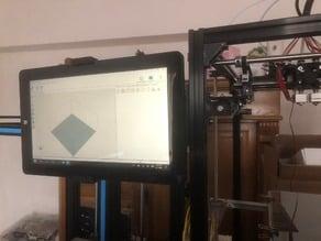 3D printer mounted Chuwi Vi10 Tablet holder