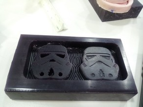 Starwars Stormtrooper Chocolate Mold (for CNC machining)